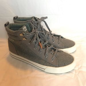 Keds Gray High Top Sneakers